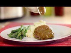 Baiga'99 Beef Recipe - How to Make Slow Cooker Salisbury Steak