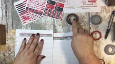 Plan With Me Cherry Themed!  Plum Paper and Kikki K