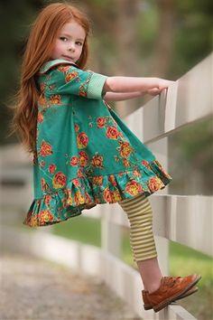 Persnickety Clothing - Emerald pino vestido de Isabelle en turquesa