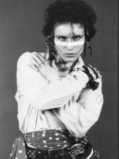 Gorgeous Adam Ant