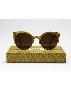...Retro Lucia Liberty print sunglasses.  Because, frankly, everything is cuter in a Liberty print.