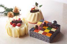 グランド ハイアット 東京、気分を楽しくする華やかなクリスマスケーキ発売 | ニュース - ファッションプレス