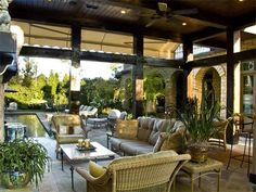 opening up and using outdoor spaces really adds to overall living quarters