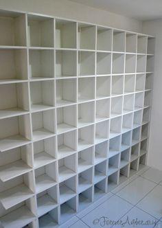 Shoe Storage Shelves Kid Closet 16 Ideas For 2019 Shoe Shelf In Closet, Shoe Shelf Diy, Shoe Storage Shelf, Shoe Cupboard, Shoe Cubby, Shoe Shelves, Kid Closet, Storage Ideas, Closet Ideas