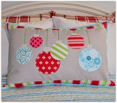 The Sewing Chick: Christmas Ornament Pillow Tutorial