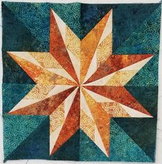 LadyBug Quilt Shop carries quilting fabric including extra wide & notions for your next sewing project. They offer innovative classes & longarm quilting services. Star Quilt Patterns, Star Quilts, Pattern Blocks, Quilting 101, Quilting Projects, Half Square Triangle Quilts Pattern, Lady Bug, Celtic Quilt, Crazy Quilt Blocks