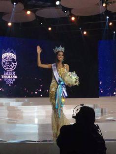 Nonthawan Thongleng Crowned Miss World Thailand 2014