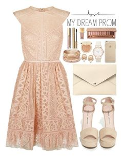 """""""Prom Do-Over: Your New Dream Dress"""" by saramsilva ❤ liked on Polyvore featuring Carolee, Elie Saab, Chinese Laundry, Louis Vuitton, Red Camel, Urban Decay, tarte, Dolce&Gabbana and Yves Saint Laurent"""