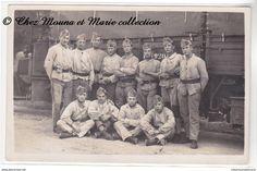 ALLEMAGNE - MAYENCE 1929 - 121 EME ESCADRON DU TRAIN AUTOMOBILE - PELOTON HORS RANG - CARTE PHOTO MILITAIRE