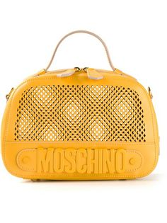 MOSCHINO Small Mesh Bowling Bag