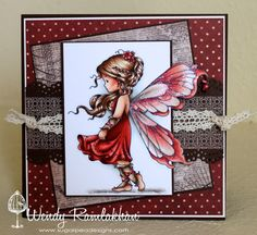 Whimsy Silver Fairy stamp