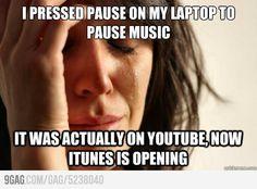 Happens to me all the time jaja