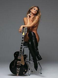 Lady guitar zappa naked