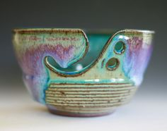 Nice use of the purple glaze - I'm never sure how to use purple.