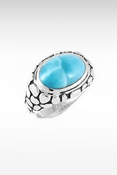 Larimarket - MarahLago Tortuga Collection Larimar Ring, $210.00 (http://www.larimarket.com/marahlago-tortuga-collection-larimar-ring/)