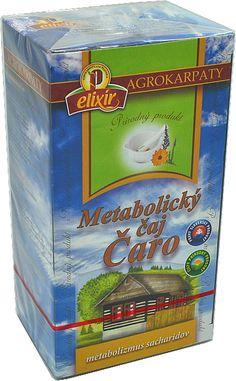 ČARO - METABOLICKÝ ČAJ - 1,49 €   BioCare.sk Coffee Cans, Baseball Cards, Canning, Drinks, Drinking, Beverages, Home Canning, Drink, Beverage