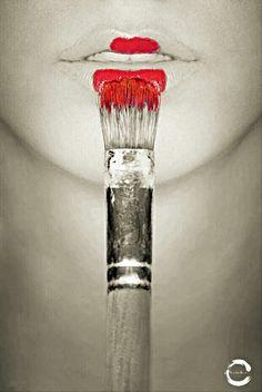 Red Lips ©Minimalist Studio 2015