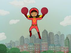 Kids Superhero Show That Teach You About Money On Pbs