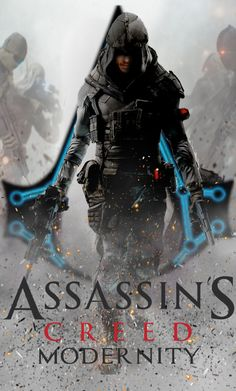 Assassin's Creed Modernity Book Cover by Assassins Creed Symbol, Assassins Creed Memes, Assassin Game, Asesins Creed, Templer, Marvel Jokes, Gaming Wallpapers, Action Poses, Modern Warfare