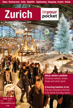 Main sights - What to see in Zurich - In Your Pocket city guide - essential travel guides to cities in Switzerland