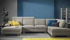 Ikea Sofas, Hall Design, My Living Room, Outdoor Furniture, Outdoor Decor, Decoration, Paint Colors, Couch, Colours