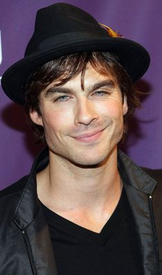Ian Somerhalder - dead guy on LOST, undead guy on The Vampire Diaries, and probably one of the most attractive men on this world.