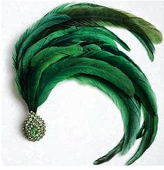 Emerald & feather pin by JAR Jar Jewelry, Fine Jewelry, Jewellery, Emerald City, Emerald Green, Green Diamond, Go Green, Green Colors, Green Life
