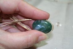A Basic Pendant Wirewrapping Lesson