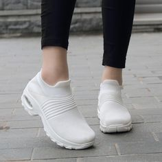 Women's Walking Shoes Sock Sneakers ( HOT SALE Today Only ) – Snechic Source by shalifeeney shoes comfy Most Comfortable Shoes, Comfy Shoes, Casual Sneakers, Casual Shoes, Winter Sneakers, Black Sneakers, Winter Shoes, Sneakers Fashion, Sock Shoes