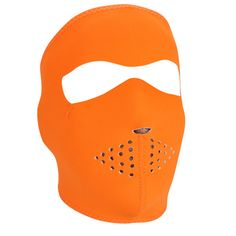The ZAN Headgear Neoprene Face Mask features full coverage of the face and ears with stretchy, warm and water resistant 2mm thick neoprene. Like most ZAN Headgear face masks it has a stretch nylon trim for added durability and clean finish. A hook and loop closure allows for adjustability and ensures great fit, and can even be lengthened with our Neoprene Extension Piece (sold separately). Provides coverage of the ears, nose and cheeks from the elements. Can be used with or without a hel...