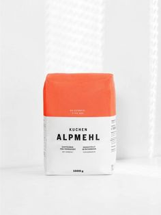 Alpmehl by Moodley. #packaging #design