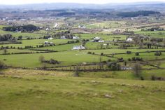 Miniature landscape looking towards Leitrim Village from Sheemore..