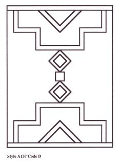 American southwest coloring pages posted by stephanie at for Navajo rug coloring page