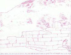 "Saatchi Art Artist Robert Lee; Drawing, ""Bema I by Robert S. Lee (Sketchbook p. 75)"" #Robert #S. #Lee #art #artist #drawing #color #Greece #Apostle #Paul #Corinth #architecture #bema #judgment #men #people #ruins Entire Book on Paperback https://www.amazon.com/dp/B015Z10SPA or Kindle Edition 1 https://www.amazon.com/dp/B015100PH6 or Kindle Edition 2 https://www.amazon.com/dp/B01518XVG0 Black & White Edition https://www.amazon.com/dp/B015Z3KSEO"