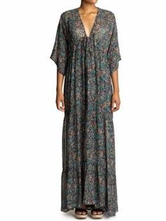 rayon maxi dress- love this look for fall #maxi #boho #piperlime