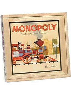 Nostalgia monopoly game like the one found by Taya and Chris in the attic in Snake Charmer.