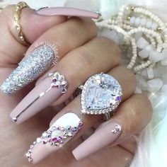 Mention below your favorite ring from the website. You might just get lucky and get tagged and get it for FREE. I love HANNAH RING and I'm a size 7. Shop now www.PrincessPJewelry.com  Nails by @misslaladoll Edit @brian_champagne ✨
