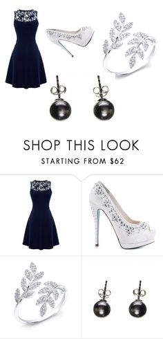 """festa"" by sahrinaerobson24 ❤ liked on Polyvore featuring Warehouse, Betsey Johnson and Anne Sisteron"