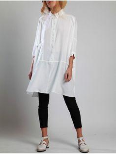 Lurdes Bergada Long Flared Shirt - 2 Colours