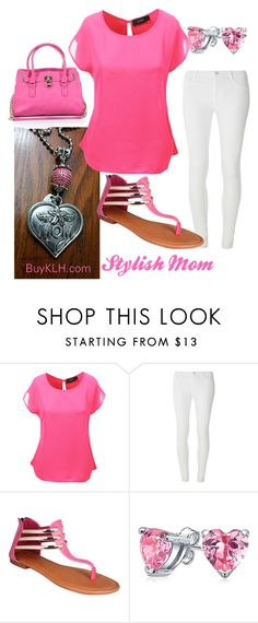 """""""Stylish Mom"""" by klhcollection on Polyvore featuring LE3NO, Dorothy Perkins, GCGme, Bling Jewelry and Charming Charlie"""