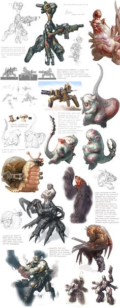 Mutated Atomic Monster Mice by Arne Niklas Jansson