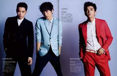 Chansung, Junho, Wooyoung for Me's Club (Japan)