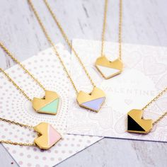 This dainty heart necklace. | 17 Heart-Shaped Gifts For People Who Love Love