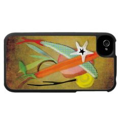 IPhone 4 - 4s case 2012   by Ruth Fitta-Schulz  Location: Germany -   Hard plastic case is covered with an easy-to-grip fabric that is richly printed with rupydetequila colorful art.  www.rupydetequila.etsy.com