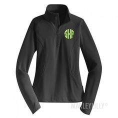 Monogrammed Dry Sport Pullover | Marleylilly