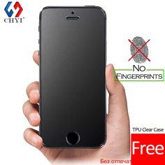 No Fingerprint Premium Tempered Glass Screen Protector For iphone 5 SE 5s 5C Frosted Glass Protective Film For iPhone5 Free case #>=#>=#>=#>=#> Click on the pin to check out discount price, color, size, shipping, etc. Save and like it!