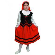 Disfraz de Pastorcita El disfraz incluye: Top, falda y pañuelo Composición: Rasete, antelina y fieltro http://www.disfracessimon.com/disfraz-pastorcita-p-603.html
