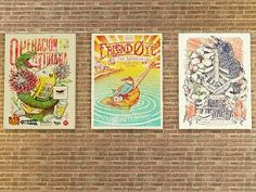 MTS - Caveman Collection Posters