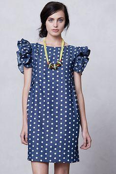 Karen Walker Dolly Chambray Dress