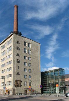 Die Arabia-Fabrikgebäude in Helsinki Helsinki, Old Things, Things To Come, Rammed Earth, Alvar Aalto, Bergen, Willis Tower, Arcade, Dreaming Of You